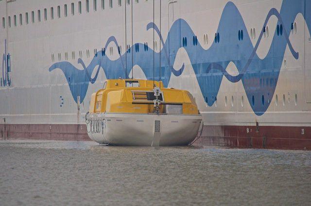 AIDAsol - Rettungsboot