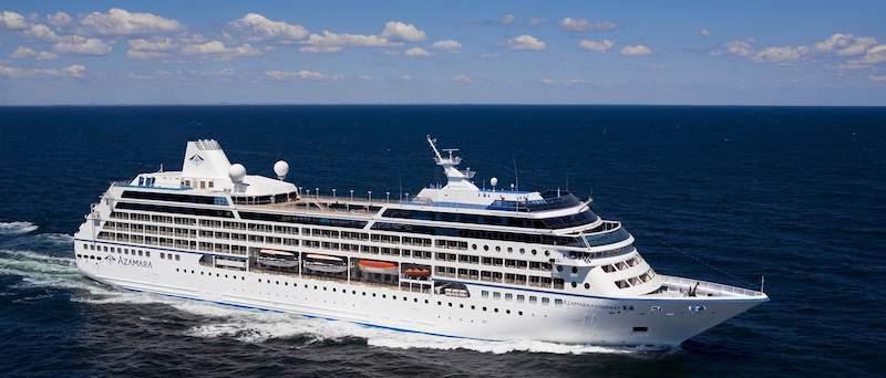 Azamara Journey auf See / © Azamara Cruises
