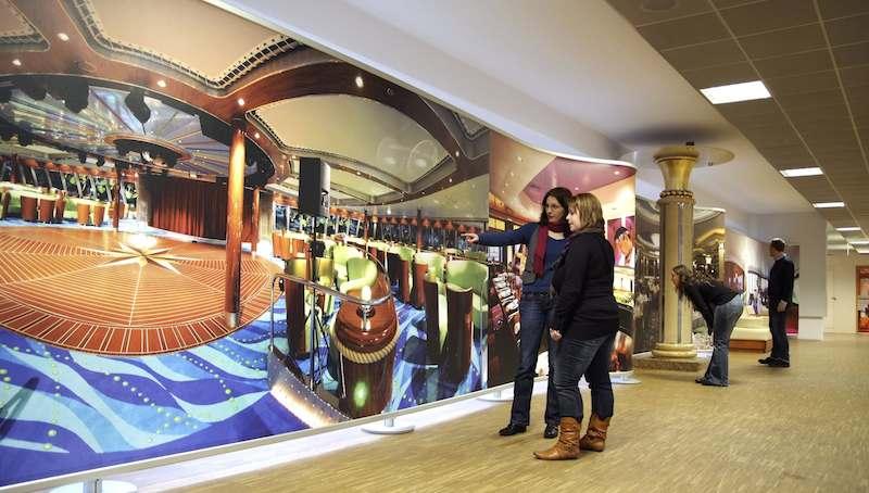 Besucherzentrum in der Meyer Werft / © Meyer Werft