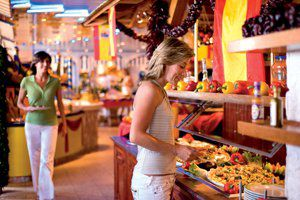 Buffet / © AIDA Cruises