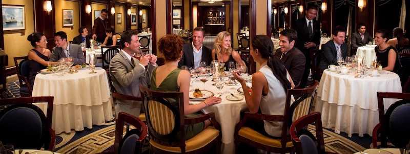 Celebrity Silhouette - Spezialitaetenrestaurants