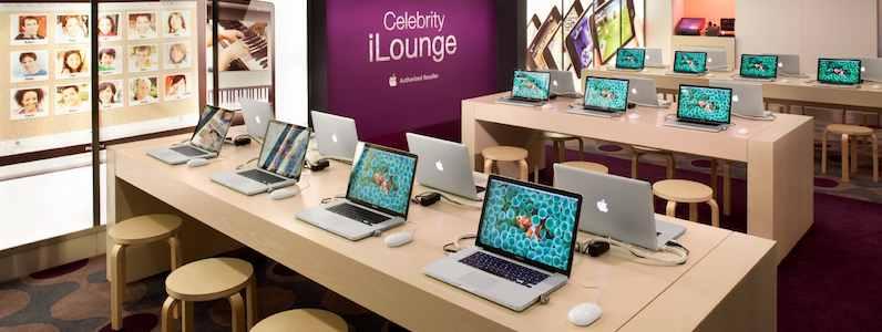Celebrity Eclipse - iLounge mit Macbooks und iPods