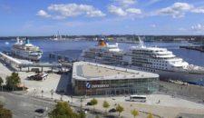 Kiel beendet die Kreuzfahrtsaison 2018 und investiert für 2019