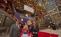 Disney Fantasy auf Kiel gelegt in Papenburger Meyer Werft