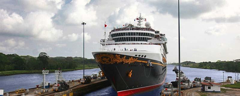 Disney Wonder - Panama Kanal / © Disney Cruise Line
