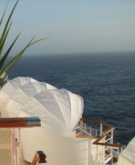 Entspannungsinseln / © TUI Cruises
