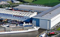 Auszeichnung für Lieferanten 2014 der Meyer Werft
