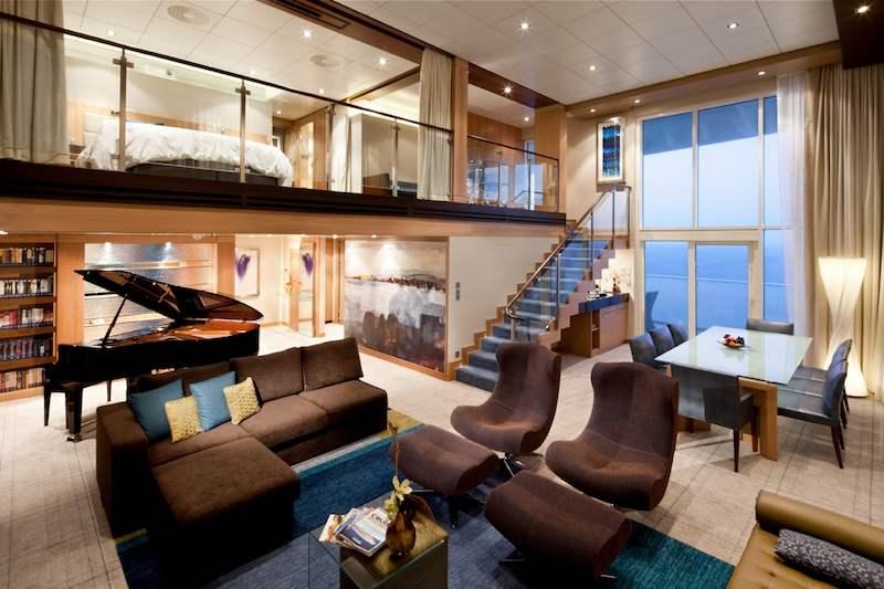 Royal Loft Suite / © Royal Caribbean Cruise Line