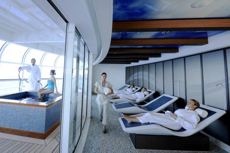 Wellness Ruhezone / © Disney Cruise Line
