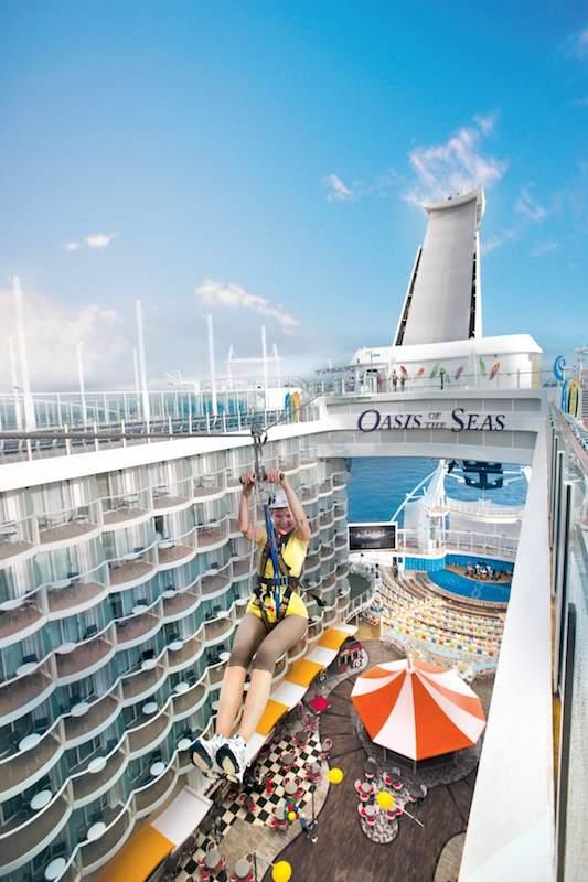 ZipLine / © Royal Caribbean Cruise Line
