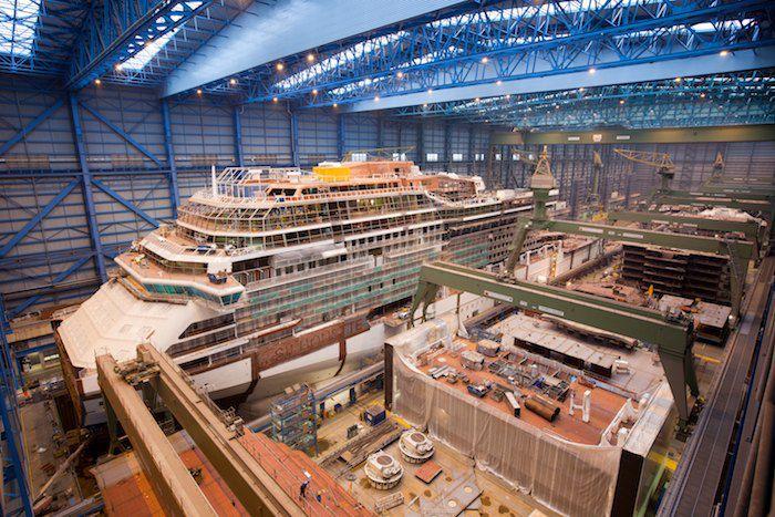Celebrity Silhouette in der Meyer Werft 2010 / 2011 – Bildergalerie