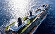 Passagier schmeisst Rettungsinsel von der Celebrity Solstice ins Wasser
