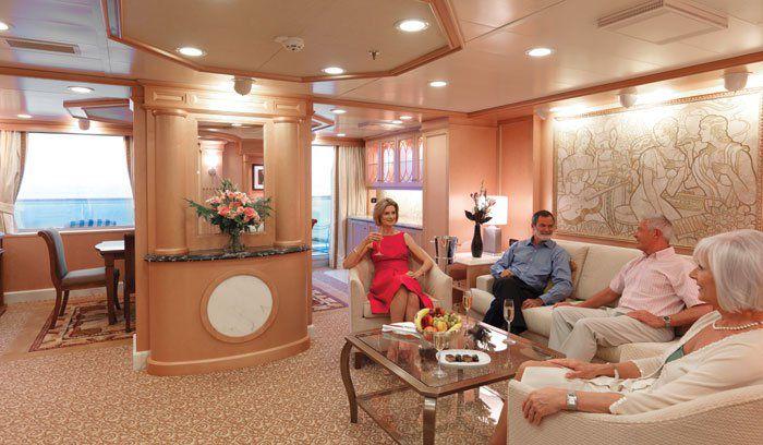 Queens Grill Kategorie Suite / © Cunard