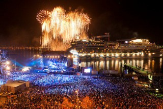 AIDAsol Taufe im Kieler Hafen / © AIDA Cruises