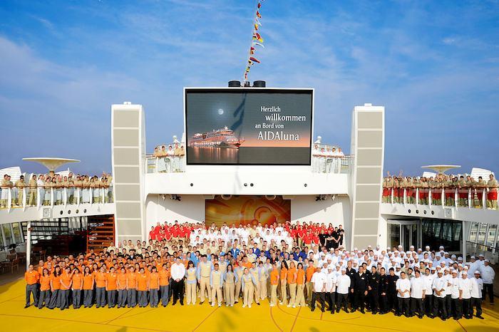 AIDA Crew / © AIDA Cruises