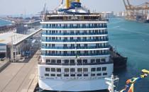Costa Mediterranea & Costa Deliziosa im Hafen von Barcelona