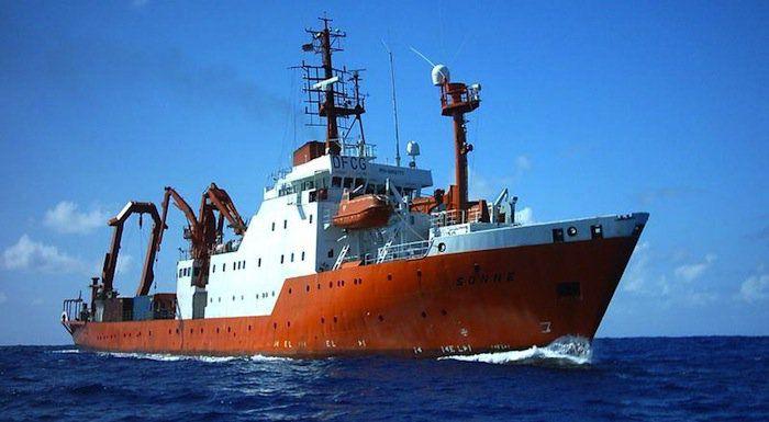 Aktuelles Forschungsschiff