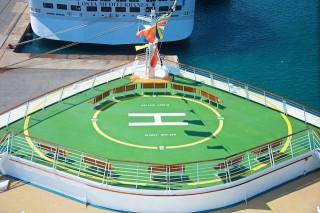 Helikopter-Platz der Liberty of the Seas