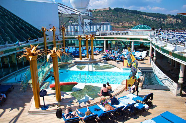 Pool auf der Liberty of the Seas