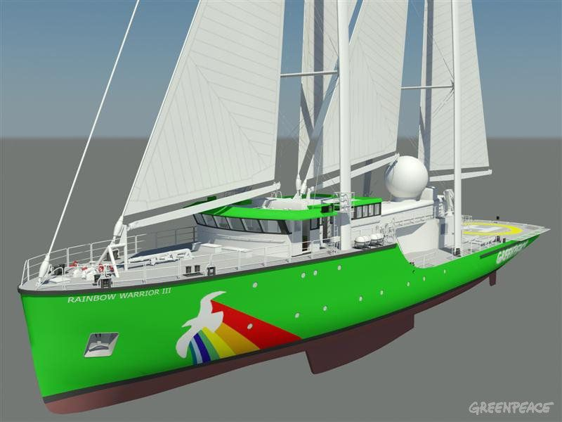 Rainbow Warrior III Illustration / Foto: www.greenpeace.org