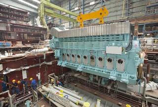 Die Motoren der AIDAstella / © AIDA Cruises