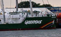 Bilderserie: Rainbow Warrior III Greenpeace Segelschiff