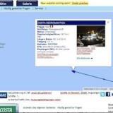 Marinetraffic: Schiffsortung und Informationen / © Screenshot www.marinetraffic.com