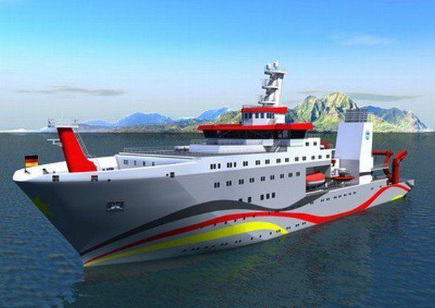 Forschungsschiff Sonne / Foto: Meyer Werft