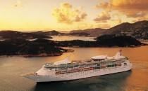 Rhapsody of the Seas zur Modernisierung im Trockendock