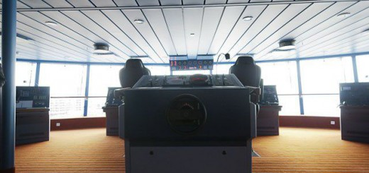 AIDAsol Nordlandkreuzfahrt 2011 - Tag 2  - Bruecke-15