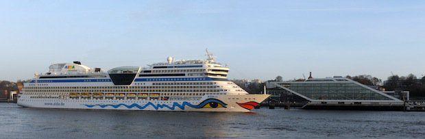Video: Landstrom für Kreuzfahrtschiffe in Hamburg – AIDA Cruises stellt unentgeltlich Experten