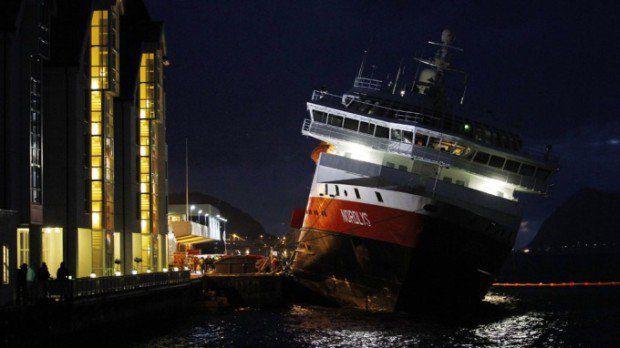 Nordlys droht zu sinken / Foto: SCANPIX © Scanpix - via TV2