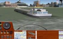 Kreuzfahrtschiff fahren mit Google Earth Schiffsimulator