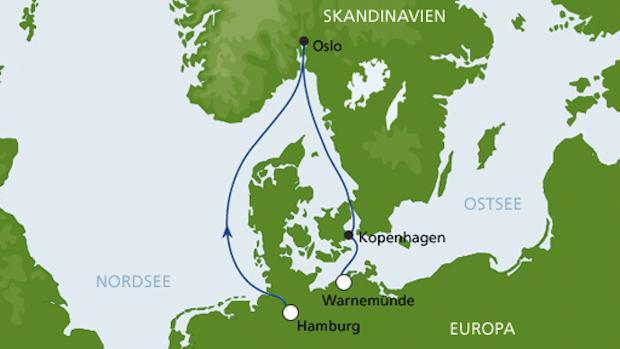 AIDAsol Kurzkreuzfahrt - Hamburg-Warnemuende / © AIDA Cruises