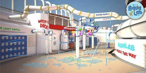 Aqualab / © Disney Cruise Line