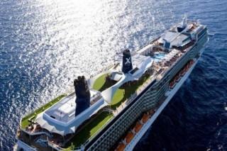 Celebrity Solstice - Draufsicht / © Celebrity Cruises
