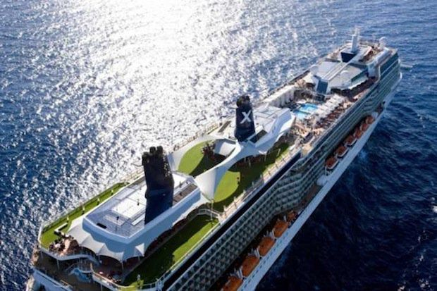 Celebrity Solstice - Draufsicht / © Celebrity Cruises