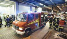 Feueralarm auf der Papenburger Meyer Werft