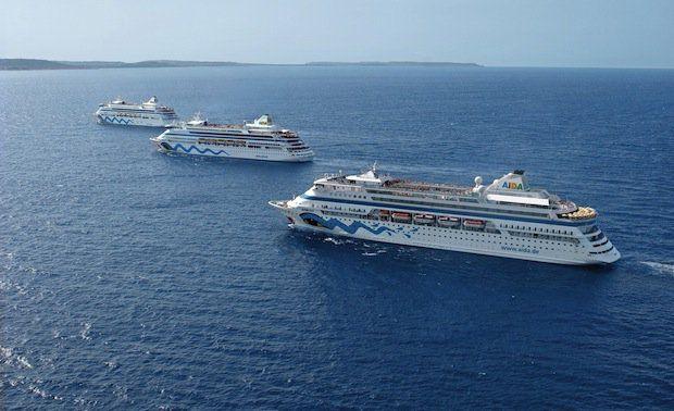 AIDA Clubschiff-Flotte / © AIDA Cruises