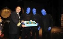 Norwegian Cruise Line: Blue Man Group: 500. Auftritt an Bord