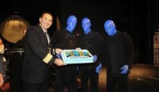 Norwegian Cruise Line: Blue Man Group: 500. Auftritt an Bord