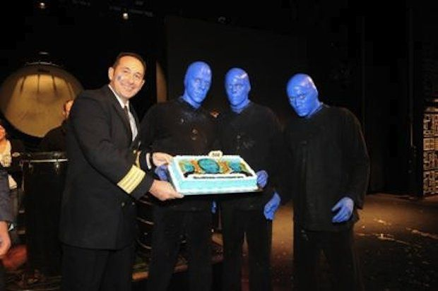 Blue Man Group - Norwegian Epic / © Norwegian Cruise Line