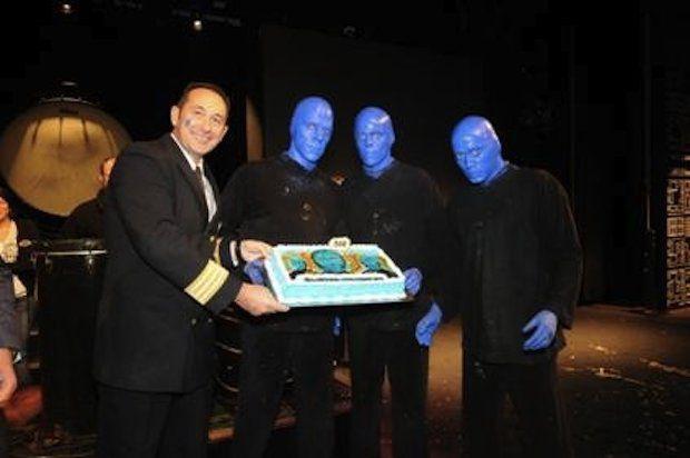 Blue Man Group - Norwegian Epic / © Norwegian Cruise Line