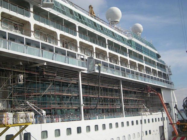 Splendour of the Seas -Trockendock - Balkonkabinen / © Royal Caribbean