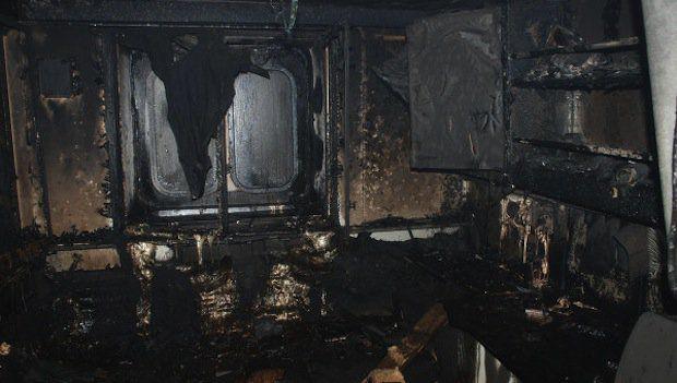 Brand auf Eisbrecher / © RIA Novosti.