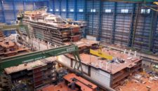 Celebrity Reflection wächst und gedeiht auf der Meyer Werft