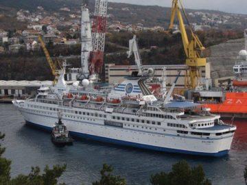 MS Delphin in der Viktor Lenac Werft / © Passat Kreuzfahrten