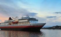 MS Finnmarken wieder im Dienst von Hurtigruten