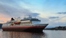 MS Finnmarken zurück in Bergen – Bis 16. Februar in der Werft danach wieder Liniendienst