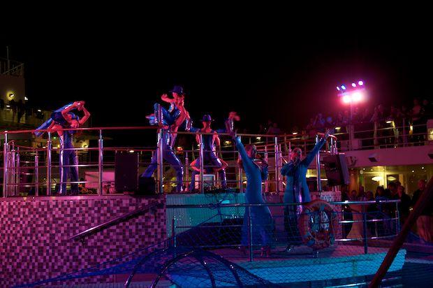 Künstler an Bord der Mein Schiff Flotte